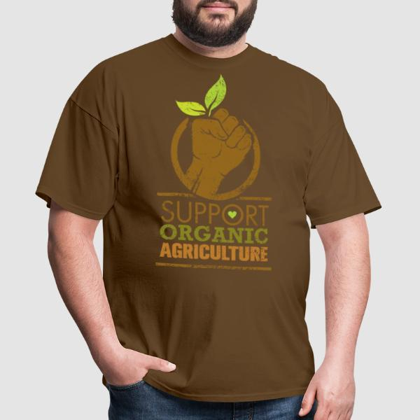 Support organic agriculture - T-shirt Environnementaliste