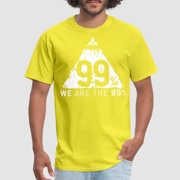 We are the 99% - T-shirt Anonymous