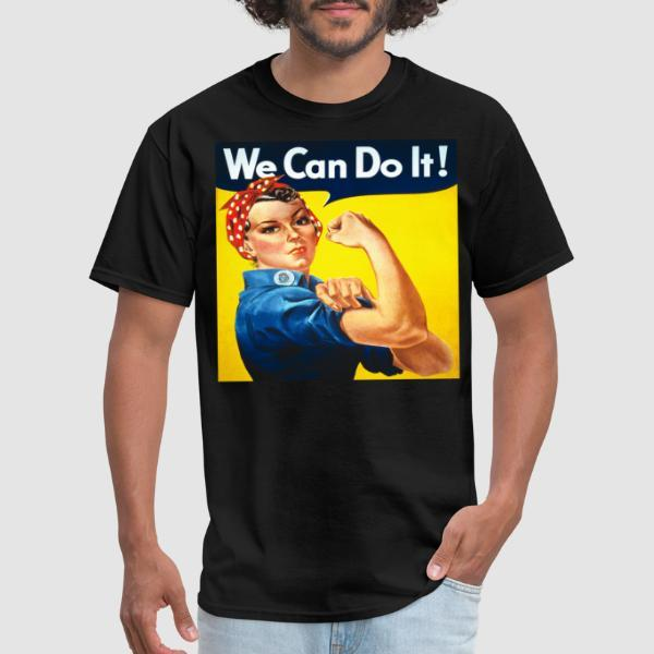We can do it! (Rosie The Riveter) - T-shirt Féministe