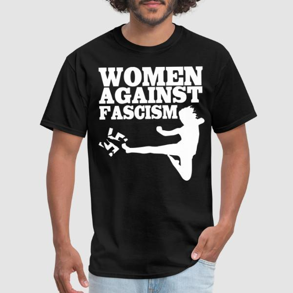 Women against fascism - T-shirt Féministe