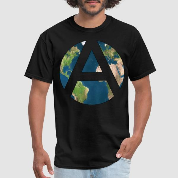 Worldwide Anarchism - T-shirt Militant