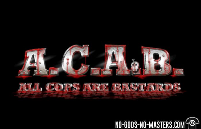 A.C.A.B. All Cops Are bastards - T-shirt organique ACAB anti-flic