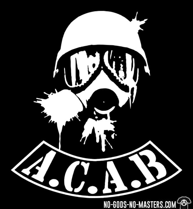 A.C.A.B. All Cops Are Bastards - Chandails à manches longues ACAB anti-violence-policiere
