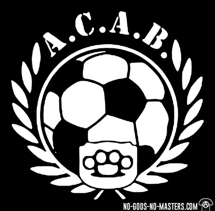 A.C.A.B. Football - T-shirt ACAB anti-violence-policiere