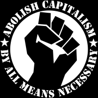 Abolish capitalism by all means necessary - T-shirt Militant