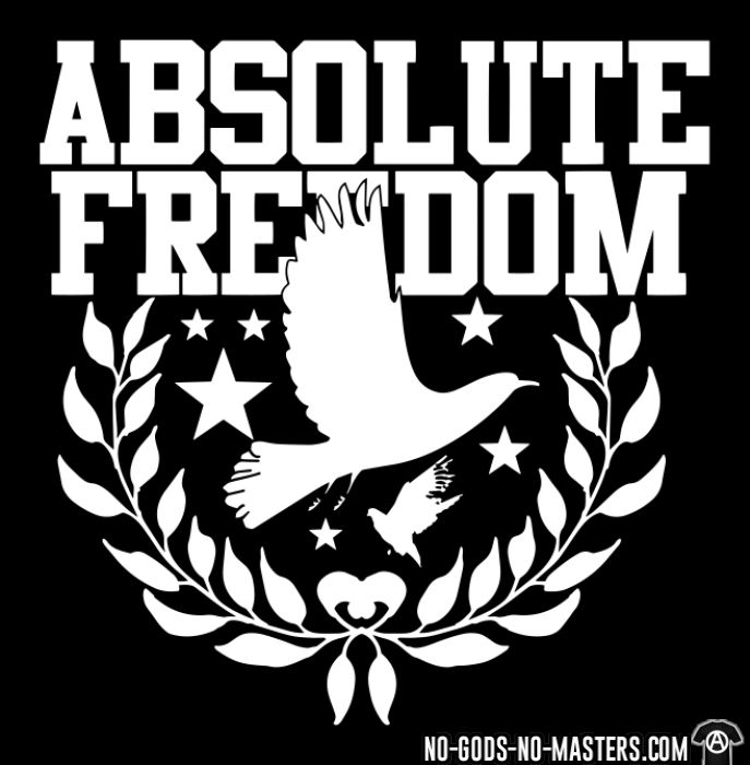 Absolute freedom - Chandails à manches longues Militant