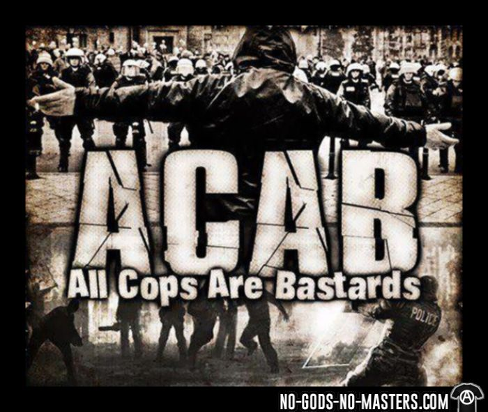 ACAB All Cops Are Bastards - Sweat à capuche (Hoodie) ACAB anti-violence-policiere