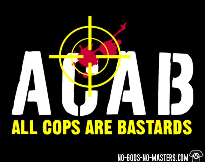 ACAB All Cops Are Bastards - T-shirt organique ACAB anti-flic