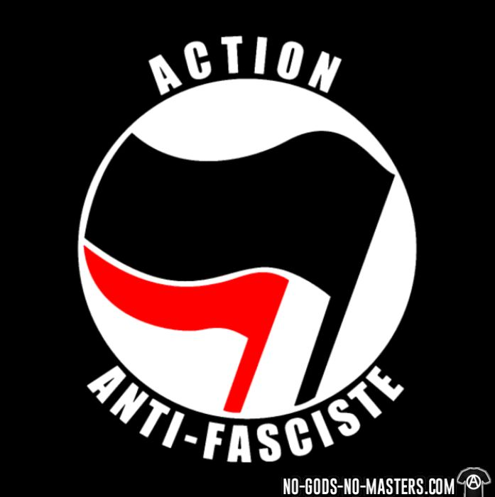 Action anti-fasciste - T-shirt Anti-Fasciste