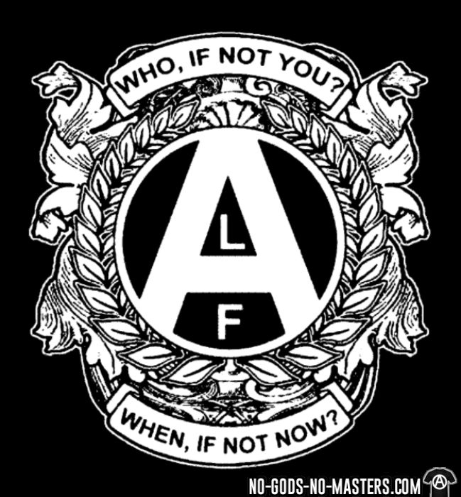 ALF - who, if not you? when, if not now? - T-shirt véganes et libération animale