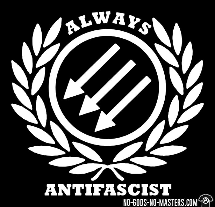 Always antifascist - T-shirt Anti-Fasciste