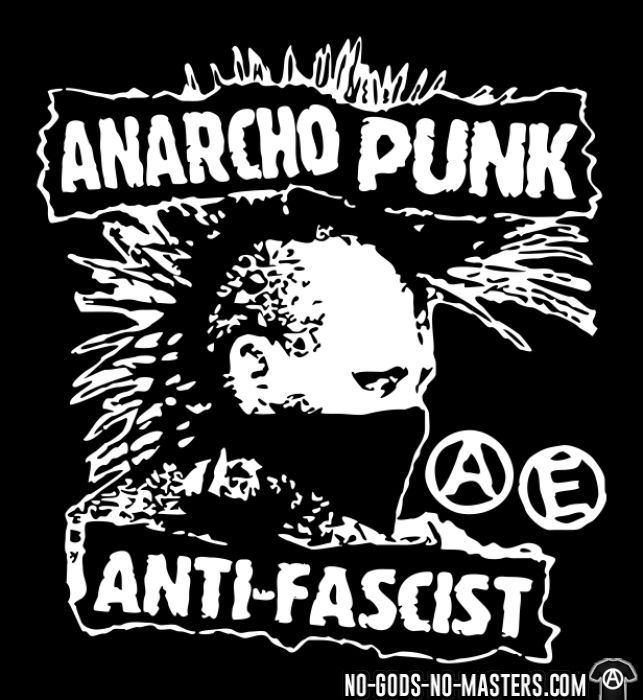 Anarcho punk anti-fascist - T-shirt Punk