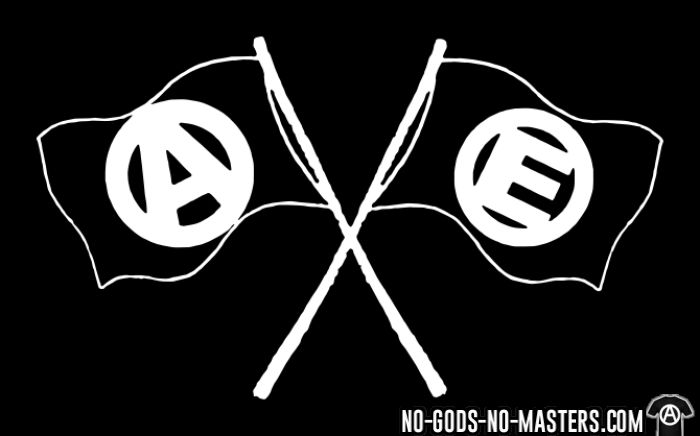 Anarchy & Equality - T-shirt Militant