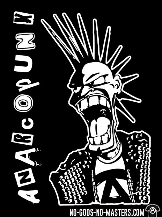 Anarcopunk - T-shirt organique Punk