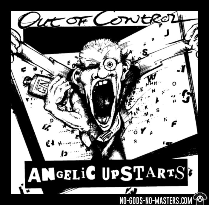 Angelic Upstarts - Out of control - Sweat à capuche (Hoodie) Band Merch