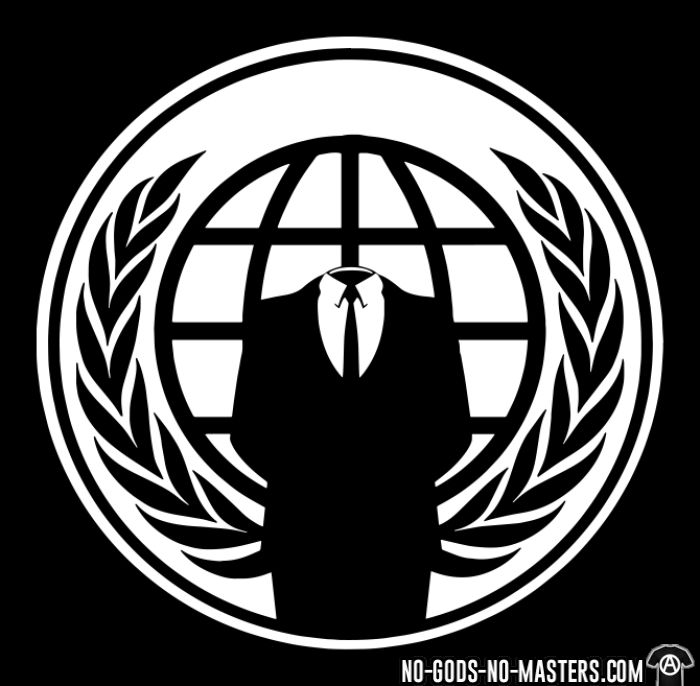 Anonymous - T-shirt Anonymous