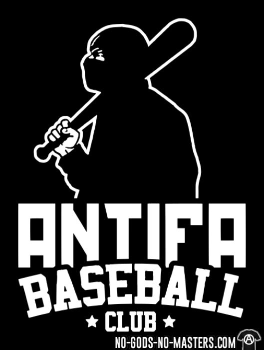 Antifa baseball club - T-shirt Anti-Fasciste