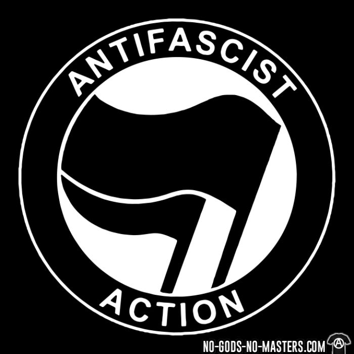 Antifascist action - T-shirt Anti-Fasciste