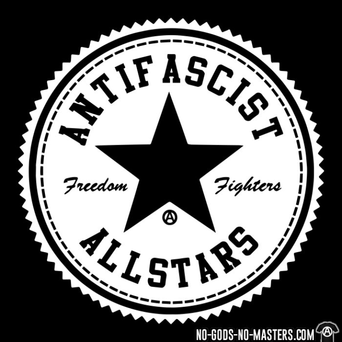 Antifascist allstars - freedom fighters - Sweat zippé Anti-Fasciste