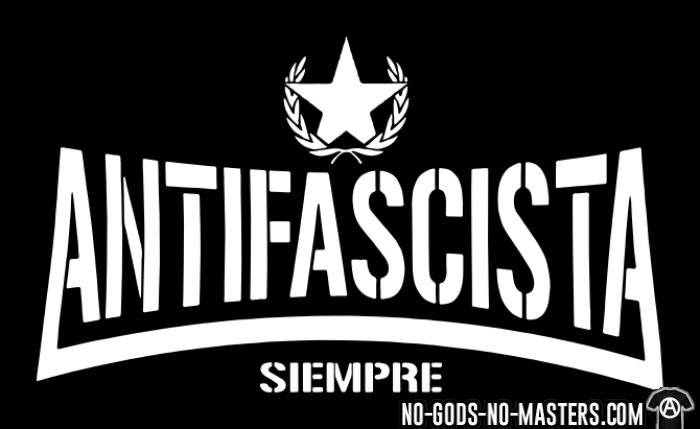 Antifascista siempre - T-shirt Anti-Fasciste