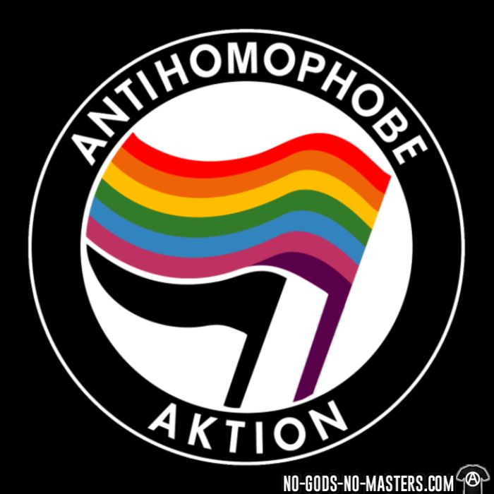Antihomophobe aktion - LGBTQ+ T-shirt