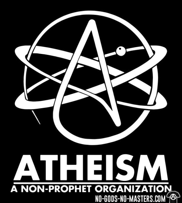 Atheism: a non-prophet organisation  - T-shirt Athé