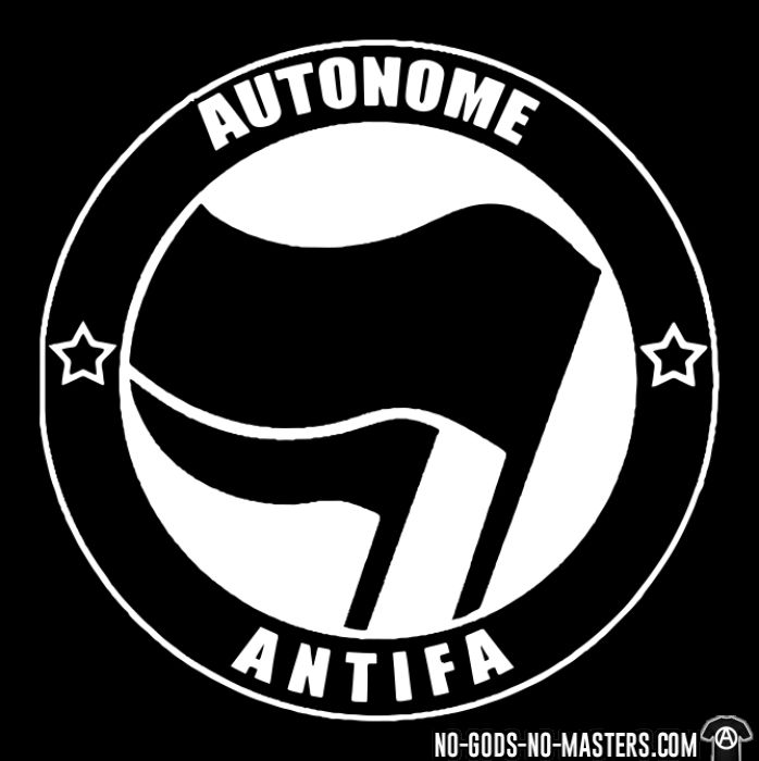 Autonome antifa - T-shirt Anti-Fasciste