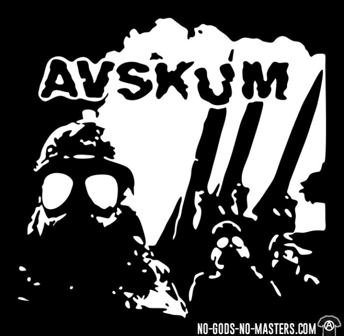 Avskum - T-shirt Band Merch