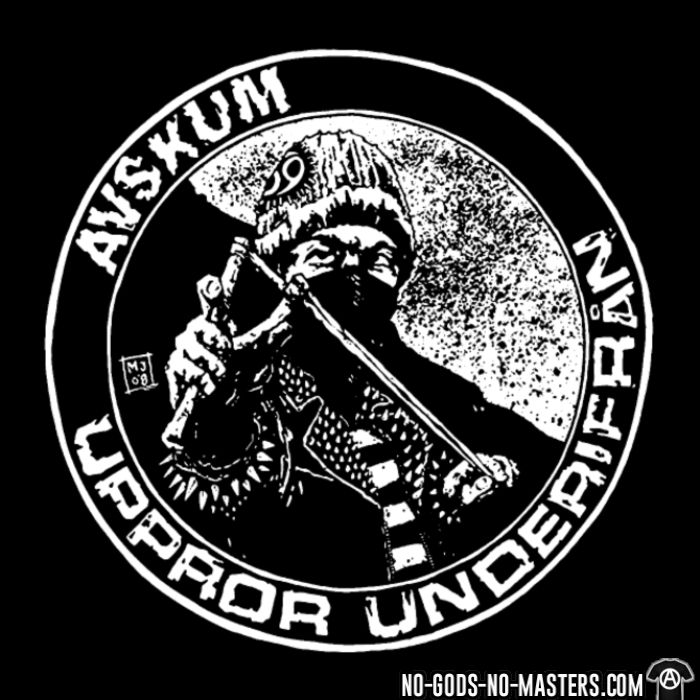 Avskum - Uppror underifran - T-shirt Band Merch