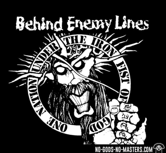 Behind Enemy Lines - One nation under the iron fist of god - T-shirt Band Merch