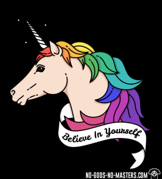 Believe in yourself - LGBTQ+ T-shirt
