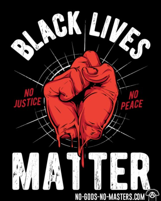 Black Lives Matter  - T-shirt ACAB anti-flic