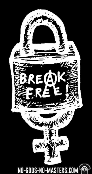 Break free! - T-shirt Féministe