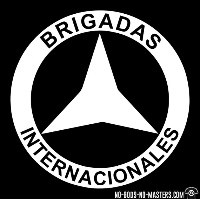Brigadas internationales  - T-shirt Révolution espagnole 1936