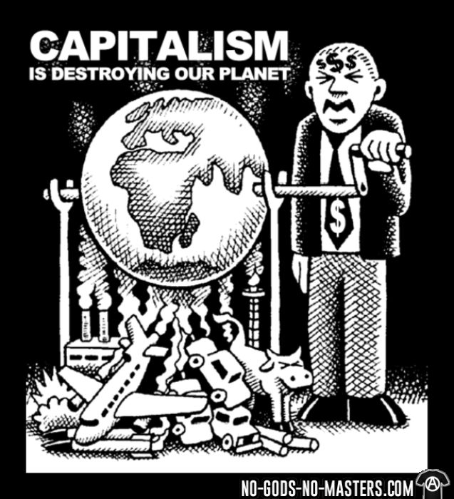 Capitalism is destroying our planet - Débardeur pour femme Environnementaliste