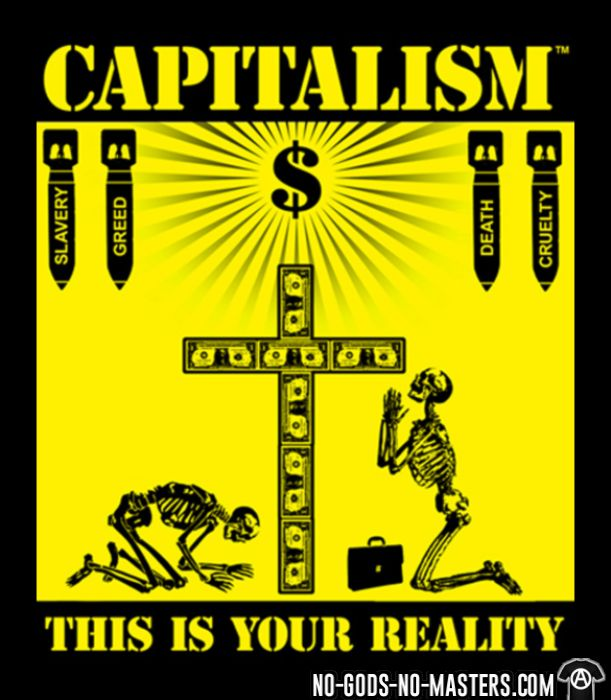 Capitalism - this is your reality - Débardeur pour femme Militant