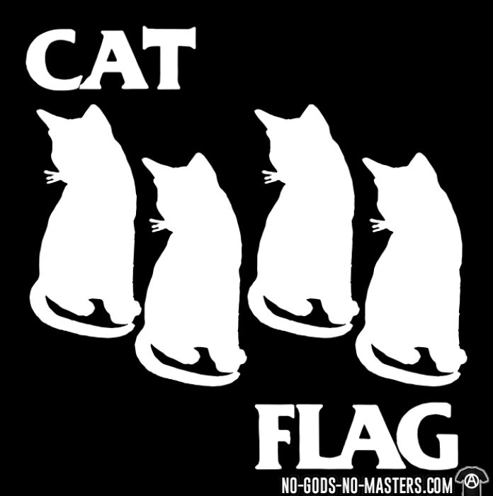 Cat Flag  - T-shirt humour engagé