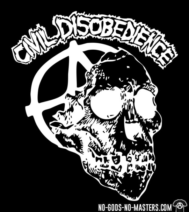 Civil Disobedience - T-shirt Band Merch
