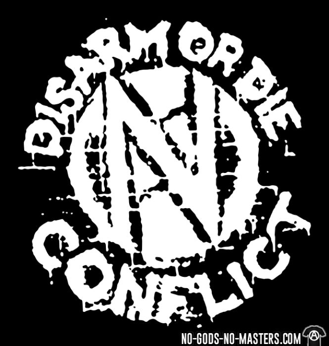 Conflict - Disarm or die - T-shirt Band Merch