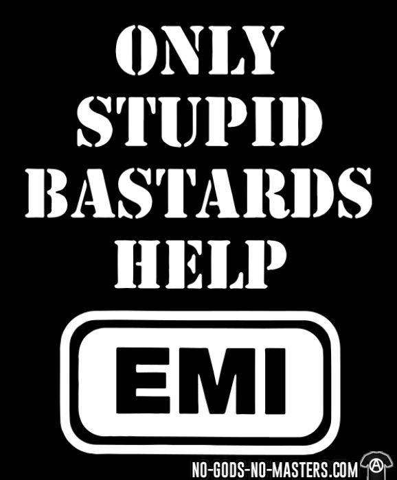 Conflict - Only stupid bastards help EMI - Chandails à manches longues Band Merch