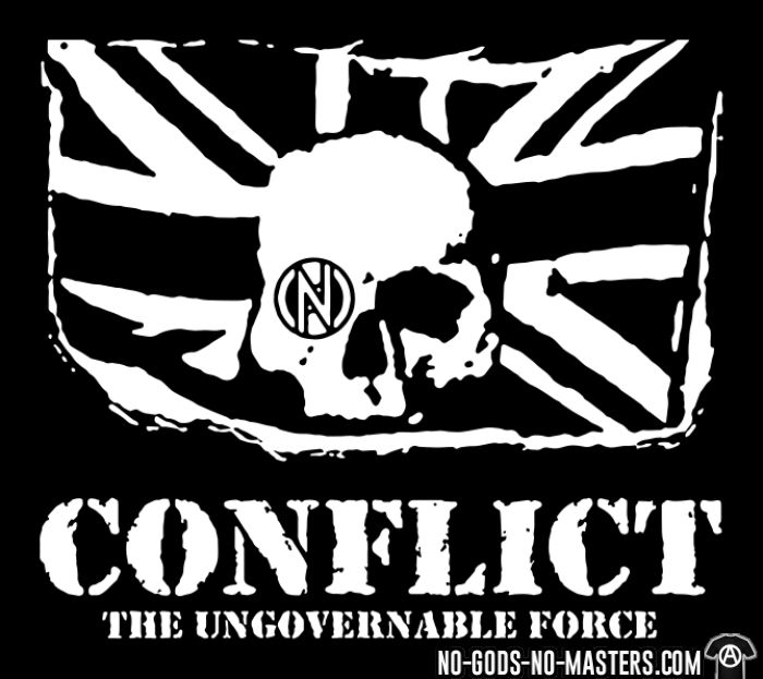 Conflict - The ungovernable force - T-shirt Punk
