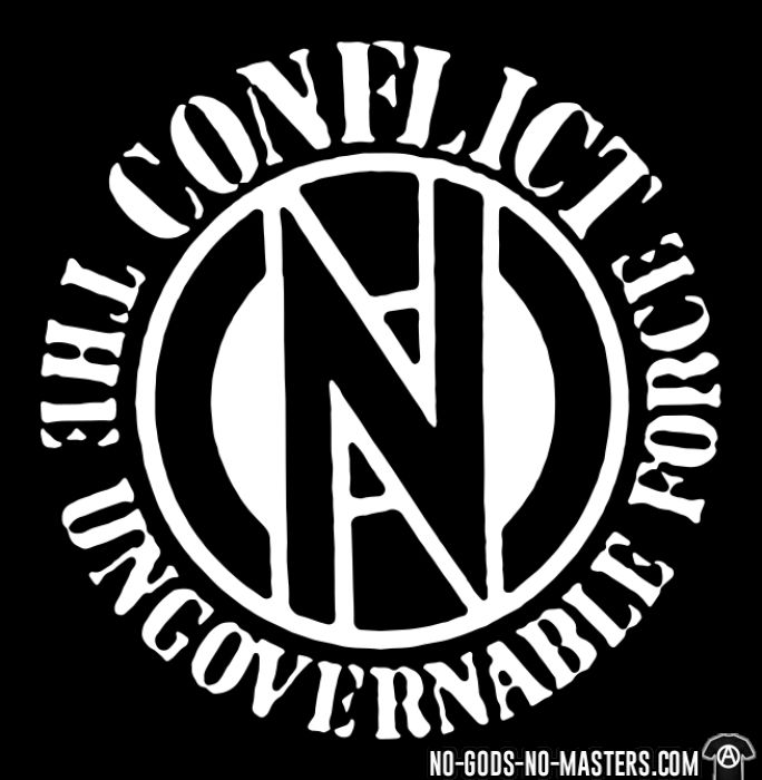 Conflict - The ungovernable force - T-shirt Band Merch