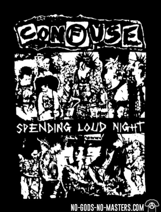 Confuse - Spending loud night - T-shirt Band Merch