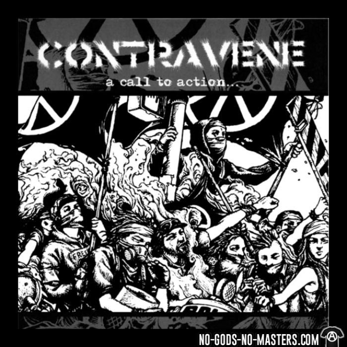 Contravene - A call to action - T-shirt Band Merch