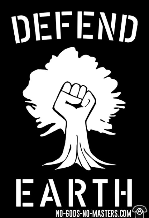 Defend earth - T-shirt Environnementaliste