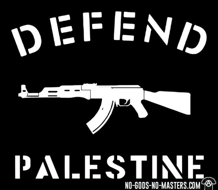 Defend Palestine - Sweat à capuche (Hoodie) anti-guerre