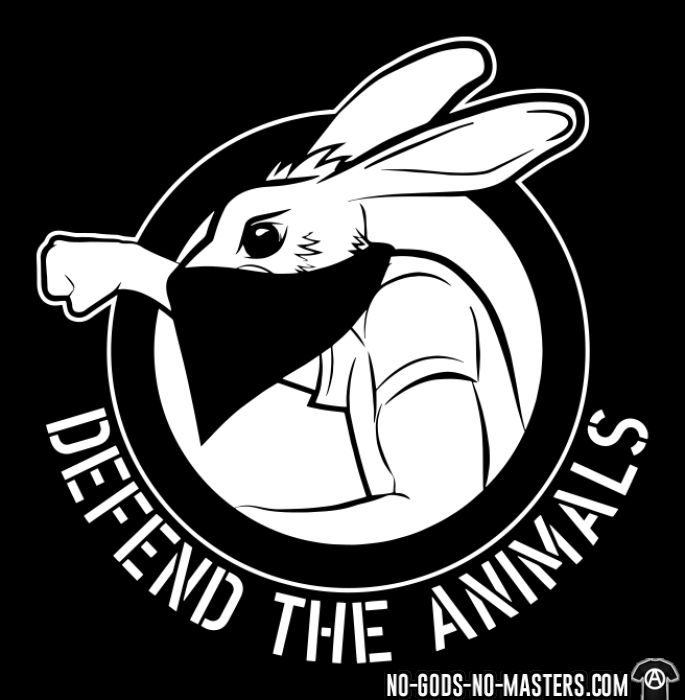 Defend the animals - T-shirt véganes et libération animale