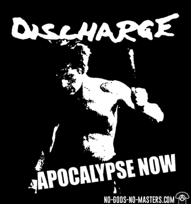 Discharge - Apocalypse now - T-shirt produit localement Band Merch