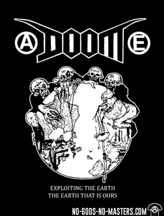 Doom - Exploiting the earth, the earth that is ours - T-shirt Band Merch