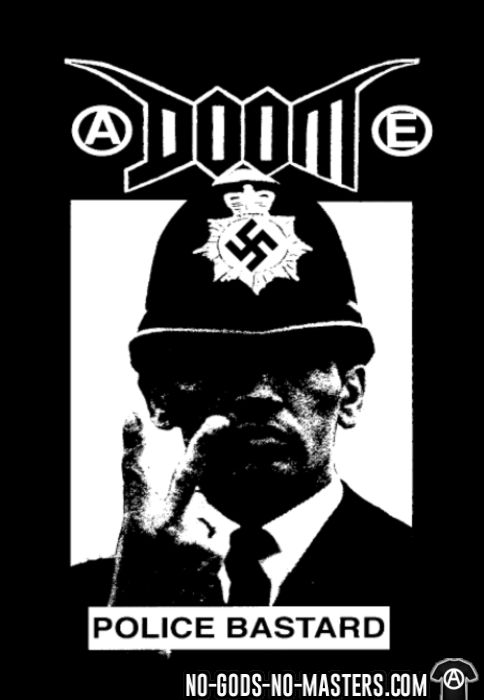 Doom - Police bastard - T-shirt Band Merch